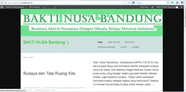 Blog Bakti Nusa Bandung