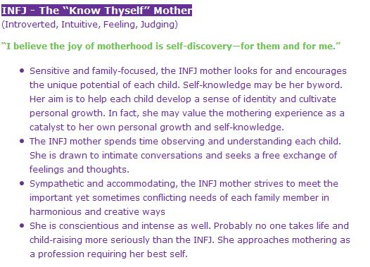 INFJ As A Mother